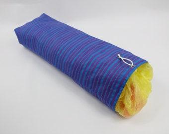 Blue, Purple, Striped, Hanging Bag Holder, Plastic Bag Saver, Grocery Bag Keeper, Plastic Bag Keeper, Shopping Bags, Grocery Bag Holder