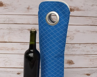 Bottle Holder Wine Sleeve Fabric Wine Bag Wine Bottle Carrier Wine Gift Bag Bottle Cozy Gift for Him Bottle Tote Bag Free Shipping
