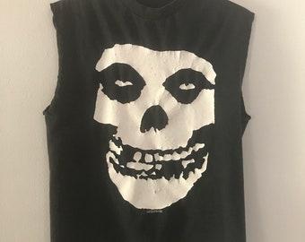 Vintage sleeveless Misfits t-shirt