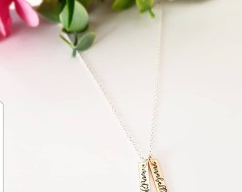 NEW Personalised Pendant Necklace