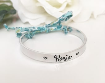 Childrens personalised Bangle