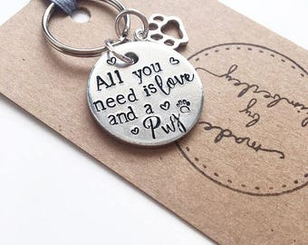 All you need is Love & a ..... Keyring