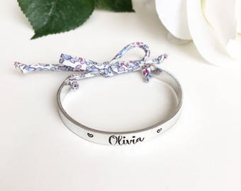 Adults Personalised Bangle