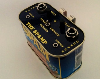 THE SPAMP Guitar Practice Amplifier And Distortion Effect