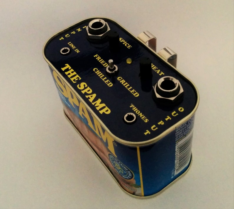 THE SPAMP Guitar Practice Amplifier And Distortion Effect image 0