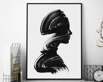 See by Andreas Lie Art Print