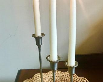 pewter candlesticks india