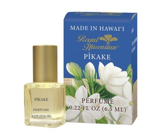 Royal Hawaiian Perfumes Pikake Jasmine Flower Perfume 0.22 Ounce from Maui, Hawaii