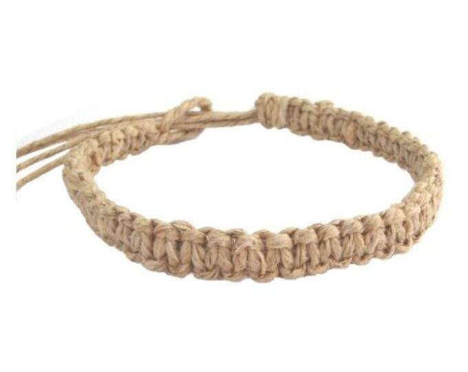 Hawaiian Jewelry Original Hemp Bracelet Handmade From Maui Hawaii