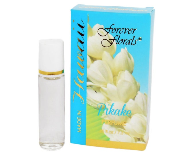 Forever Florals Pikake Hawaiian Jasmine Perfume from Maui, Hawaii