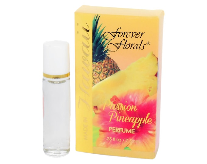 Forever Florals Hawaiian Passion Pineapple Perfume from Maui, Hawaii