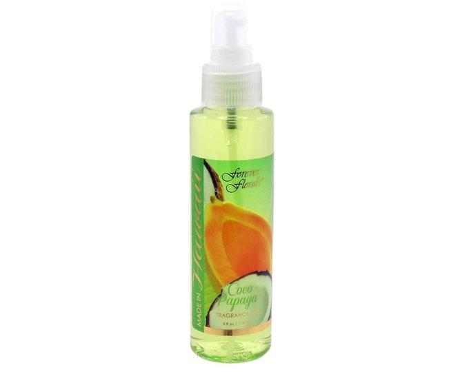 Forever Florals Hawaii Coconut Papaya Body Fragrance Mist Or Air Freshener 4 oz. from Maui, Hawaii