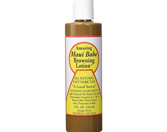 Maui Babe Browning Lotion Tanning Lotion 8 Fl Oz