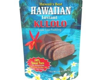 Hawaiian Instant Kulolo Luau Taro Pudding Powder Mix - 100% Hawaii Taro