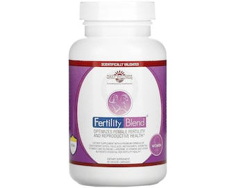 Fertility Blend for Women Capsules by Daily Wellness 90 Capsules