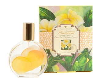 Aloha Beauty Tropical Plumeria Flower Eau De Parfum Spray Perfume 1.7 fl oz from Maui, Hawaii