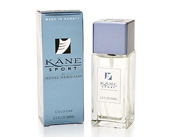 Royal Hawaiian Perfumes Men's Kane Sport Cologne 3.0 Ounce from Maui, Hawaii