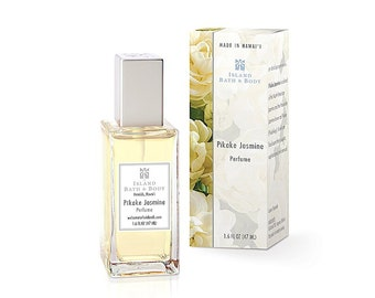 Island Bath And Body Pikake Jasmine Perfume 1.6 Ounce from Maui, Hawaii