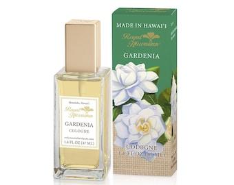 Royal Hawaiian Perfumes Gardenia Flower Cologne 1.6 Ounce from Maui, Hawaii
