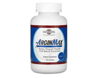 Arginmax for Men by Daily Wellness 180 Capsules