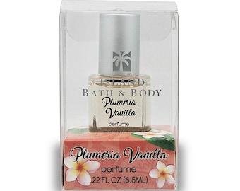 Island Bath And Body Plumeria Vanilla 0.22 Ounce Perfume from Maui, Hawaii