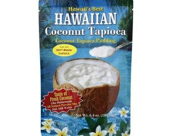 Kauai Tropical Syrup Hawaiian Coconut Tapioca Pudding, 6.4 Ounce