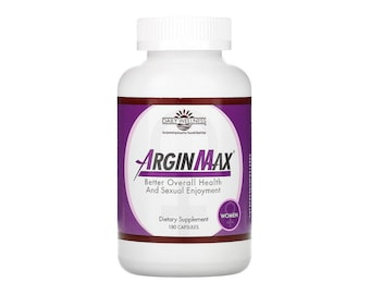 Arginmax for Women by Daily Wellness 180 Capsules