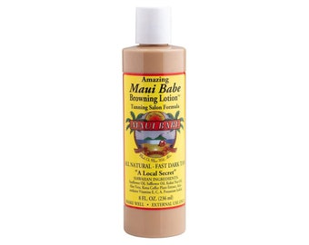 Maui Babe Tanning Salon Formula Browning Lotion for Indoor Tanning with Free Shipping