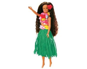 Hawaiian Hula Girl Dancing Doll Nohea - Fits Barbie™ Clothes