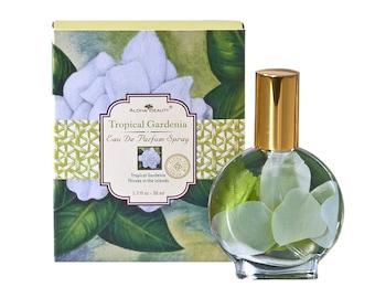 Aloha Beauty Tropical Gardenia Eau De Parfum Spray Perfume 1.7 fl oz from Maui, Hawaii