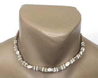 Hawaiian Jewelry Hawaiian Shell and Puka Shell Hemp Bead Choker Necklace from Maui, Hawaii