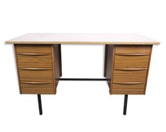 Bureau pliable design good bureau design bois clair with bureau
