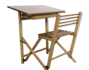 Bois bureau hauteur bar pliable ajustable chaise sans cuisine