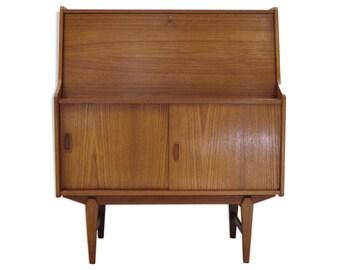 Bureau style scandinave en bois bureau vintage en bois avec etsy