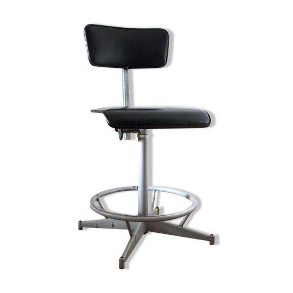 Chaise Pivotante Atelier De Bureau Style Industriel