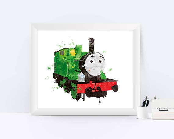Thomas And Friends Percy The Small Engine Printables