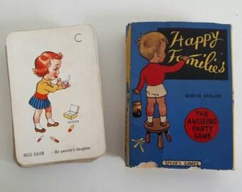 Complete Set Happy Families Spears Vintage