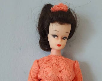 Vintage Bild Lilli Clone Doll Wedding Dress