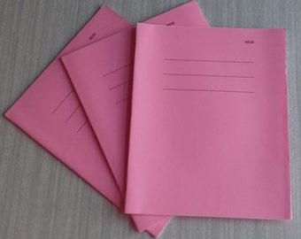 Pink Exercise Notebooks Blank