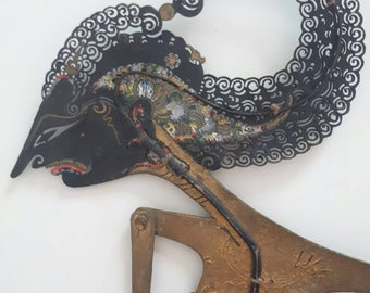 Wayang Kulit Central Java Shadow Puppet