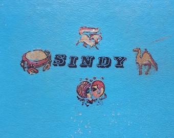 Vintage Child Suitcase Mini Sindy