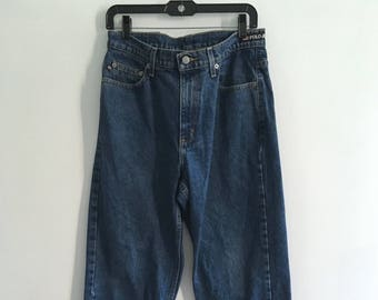 a91e7255543 Vintage 90s Ralph Lauren Polo Jeans Co loose fit jeans