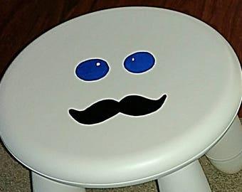 Mustache Stool