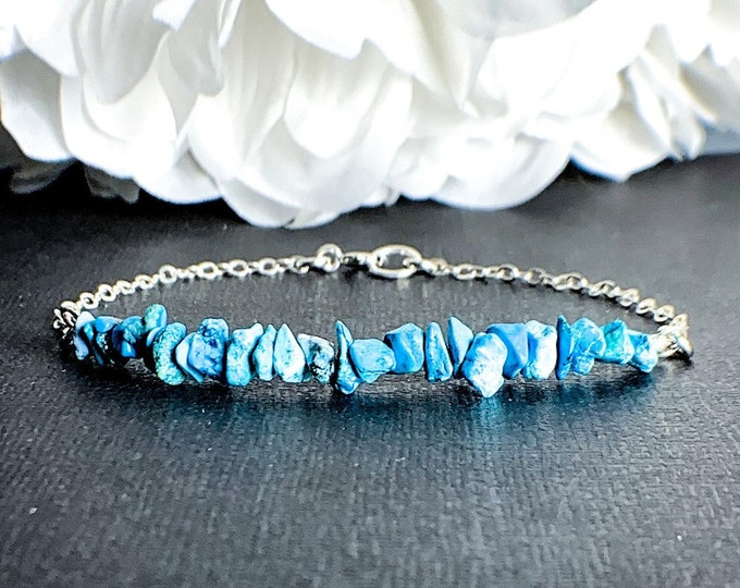 Turquoise Healing Crystals Bead Bracelet