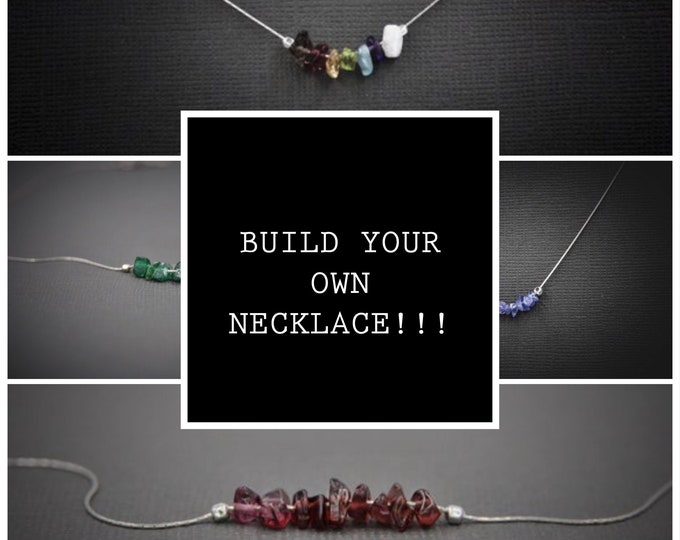 Build Your Own Custom Necklace with Personalized Crystal Intentions