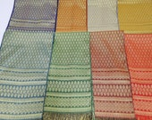 10x78 inches, Multipurpose Brocade Scarf, Men Waist Band, Sash, Pabiang, Shawl, Sabai, Shoulder Cloth For Thai Lao Khmer Traditional Clothes