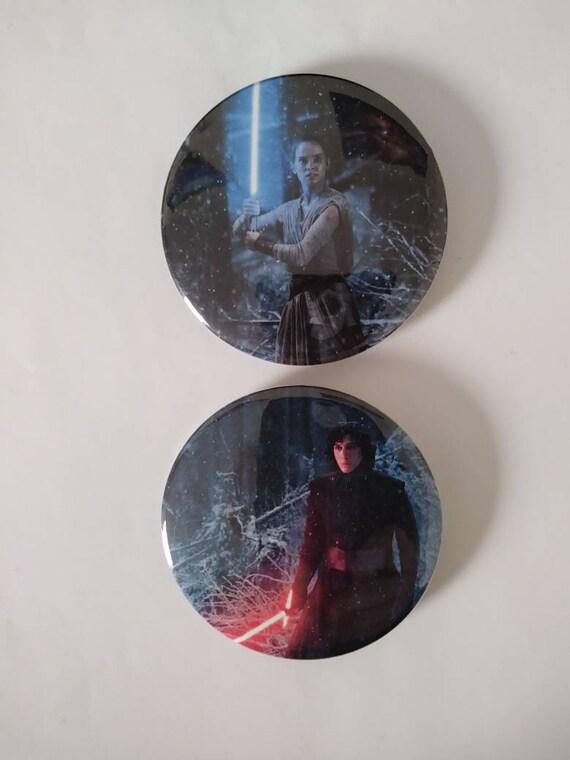 Star Wars Reylo Dark Lightsabers Enamel Pin
