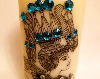 Pharaoh candle!