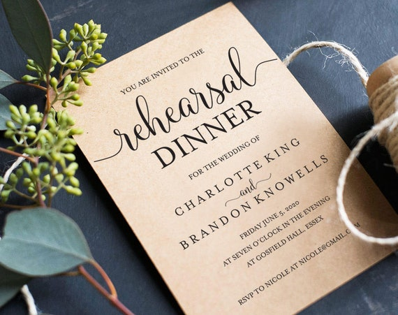 photograph regarding Printable Rehearsal Dinner Invitations referred to as Printable Rehearsal Supper Invitation Template,The Night time Ahead of Invitation,Rehearsal Diner Invite Card,Pre Wedding day Celebration Invitation, TOS_174