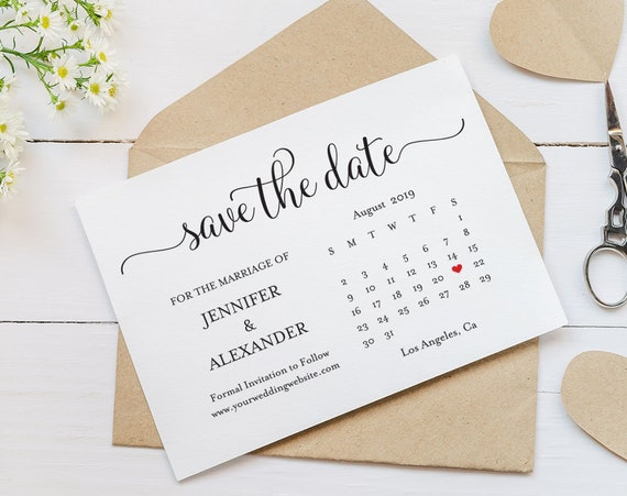 This is a graphic of Printable Save the Date in november